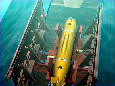 Источник: ВМФ России получит на вооружение подводные беспилотники «Посейдон» до 2027 года