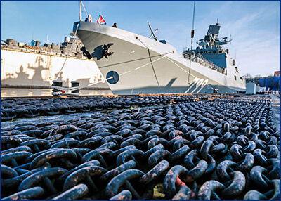 Фрегат «Адмирал Макаров» прибудет на Черноморский флот в третьем квартале