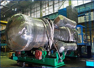 Завершена сварка корпуса второго реактора для ледокола «Урал»