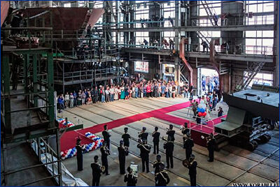 Концерн «Калашников» заложил первый катер специального назначения для Росгвардии