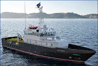 Головной гидрографический катер проекта 23040Г спустят на воду 17 мая