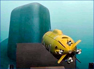 Подводный беспилотник «Посейдон» сможет нести боеголовку мощностью до двух мегатонн
