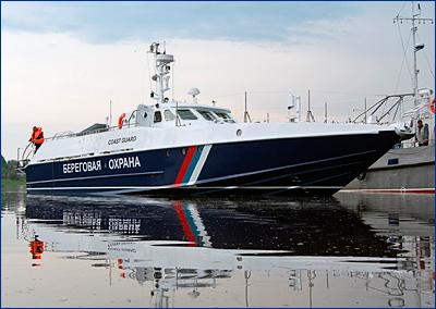 В Рыбинске спущен на воду юбилейный «Мангуст»