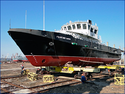 Завод «Нижегородский Теплоход» спускает на воду головной катер новой серии