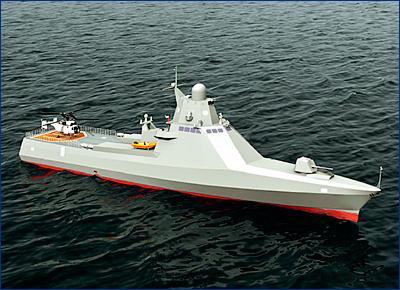 Алжир заказал четыре российских модульных корвета проекта 22160