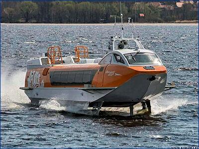 В Санкт-Петербурге состоится презентация судна на подводных крыльях нового поколения «Валдай 45Р»