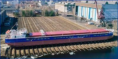 Завод «Красное Сормово» передал сухогруз «Пола Макария» компании «Пола Райз»