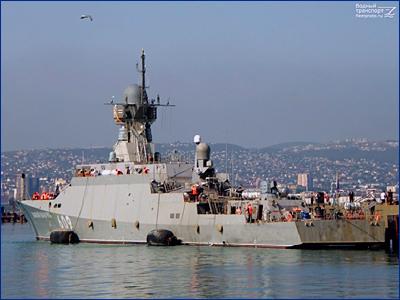 МРК «Вышний Волочек» с «Калибрами» подготовили к передаче Черноморскому флоту