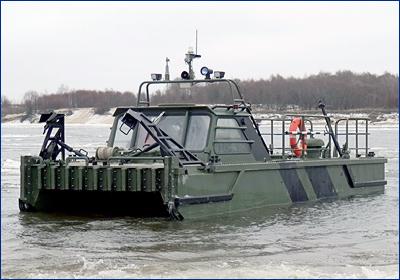 Инженерные войска получат буксирно-моторные катера двух типов