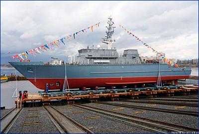 Корабль ПМО «Иван Антонов» в сентябре прибудет к постоянному месту базирования на ЧФ