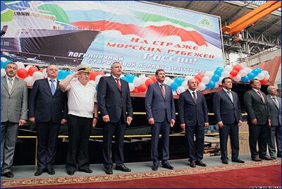 01 июня состоится спуск на воду пограничного корабля проекта 22100 «Петропавловск-Камчатский»