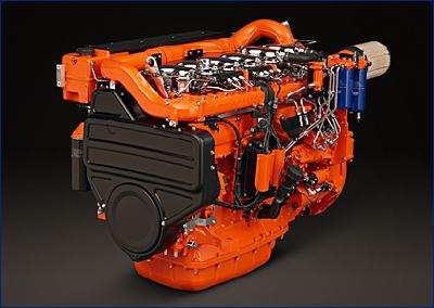 Scania форсирует судовые двигатели