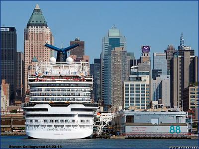 Береговая охрана эвакуировала 33-летнюю пассажирку с борта круизного лайнера «Carnival Horizon»