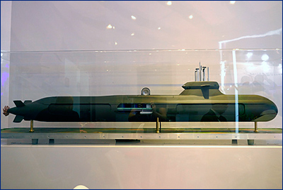 Saab и Damen представили модульную подлодку А26 для Нидерландов
