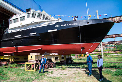 БГК «Александр Евланов» для ВМФ спустят на воду до конца июня