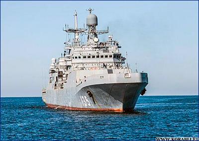 Большой десантный корабль «Иван Грен» войдет в состав ВМФ России до конца июня месяца 2018 года