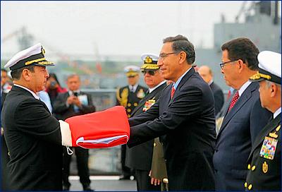 ВМС Перу передан головной ДВКД класса «Писко»