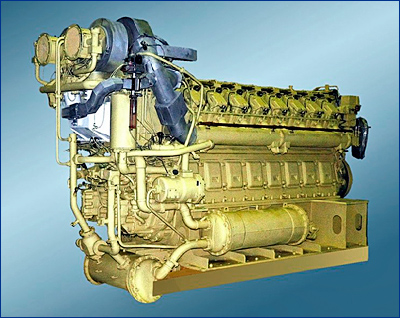 Коломенский завод в 2018 году изготовит 36 дизель-редукторных агрегатов и дизель-генераторов для ВМФ
