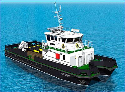 «Кампо» построит гидрографические катера для нужд Управления навигации и океанографии Минобороны РФ