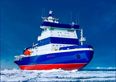 Россия наращивает количество ледоколов