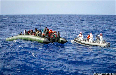 Береговая охрана Ливии спасла 458 нелегальных мигрантов у западного побережья страны