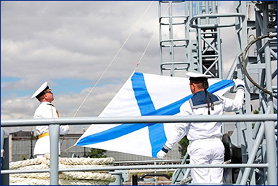 Судно связи «Иван Хурс» принято в состав ВМФ России
