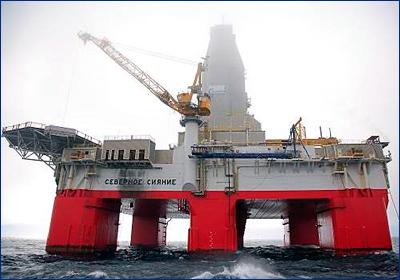 Две буровые установки «Газпром флота» прибыли на точки бурения