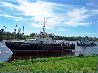 ЗНТ спустил на воду БГК «Александр Евланов»