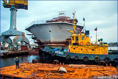 Ледокольное судно «Андрей Вилькицкий» отправится на ходовые испытания уже в октябре 2018 г.