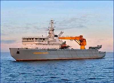 Пневматическую систему компенсации крена для крупных кораблей испытают в Петербурге