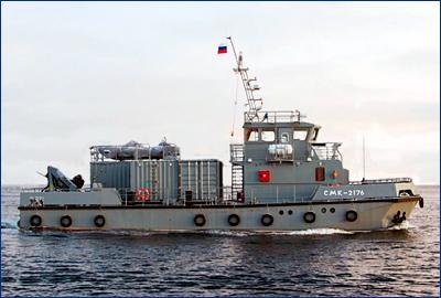 Для гидрографической службы ВМФ России построят модульные катера нового типа