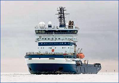 Для Атомфлота построят четыре ледокола на СПГ мощностью 40 МВт