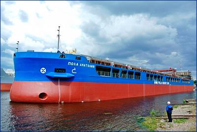 На Невском ССЗ спустили на воду головное судно проекта RSD59