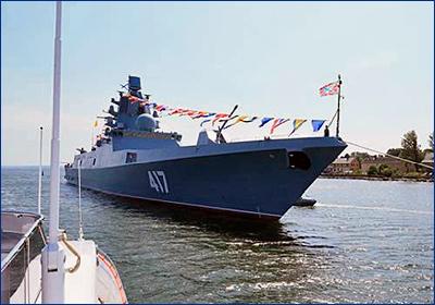 Военные моряки рассчитывают получить «Адмирала Горшкова» до конца третьего квартала