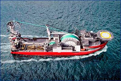 На Royal IHC заложили киль кабелеукладчика для Subsea 7