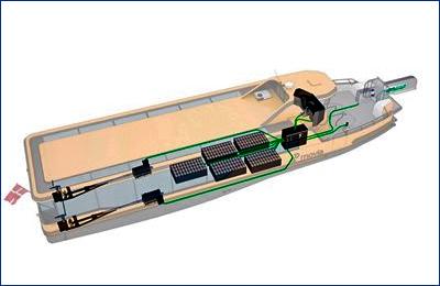 Damen построит для судоходной компании Arriva пять электрических паромов проекта Damen Ferry 2306 E3