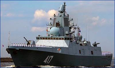 Глава ОСК ждет решения военных о вводе в состав ВМФ фрегата «Адмирал Горшков»