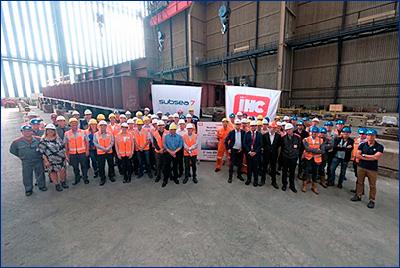 Royal IHC приступила к строительству нового судна для Subsea 7