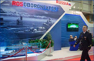 Рособоронэкспорт выводит на мировой рынок уникальное подводное оружие и средства защиты кораблей