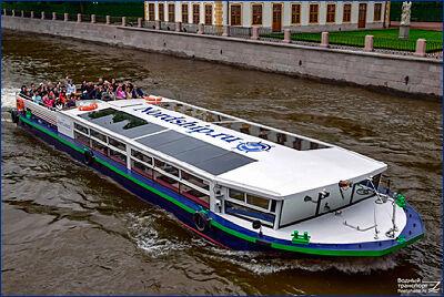 СЗ «Ладожская верфь» построил два прогулочных судна проекта 2105