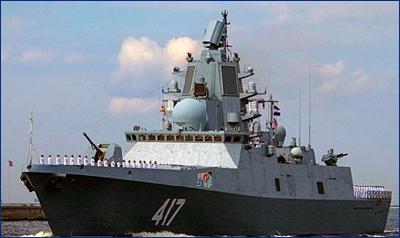 ВМФ: Сроки сдачи флоту фрегата «Адмирал Горшков» переноситься не будут