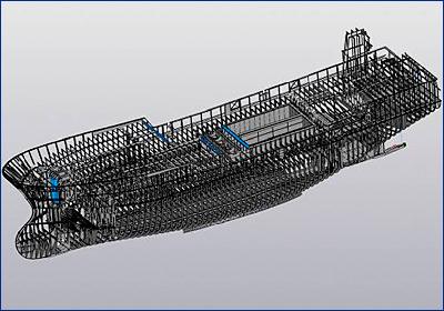 Аскон доказал возможность проектирования корпуса судна в своём ПО