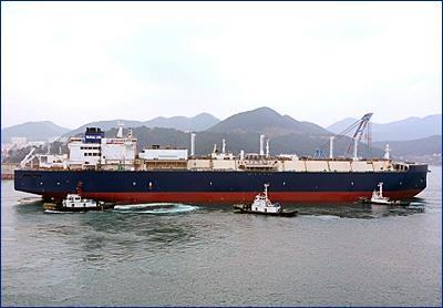 Россия заказала в Южной Корее 15 танкеров для перевозки СПГ