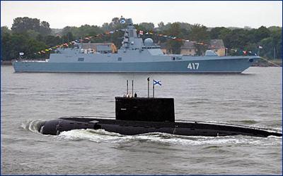 Фрегат «Адмирал Горшков» примут в состав ВМФ 28 июля