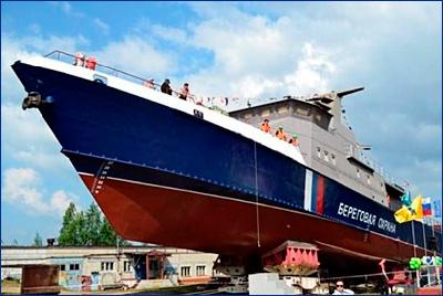 В Ярославле спущен на воду сторожевой корабль «Балаклава»