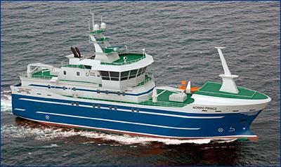 На Северной верфи состоялась закладка первого ярусолова-процессора для Карельского рыболовного флота