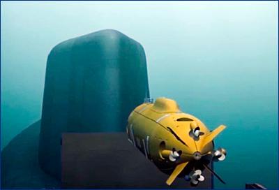 Начались испытания беспилотного подводного аппарата «Посейдон»