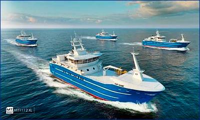 Планируется постройка 100 рыбопромысловых судов