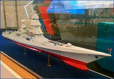 Российский корабль оснастят самым мощным оружием