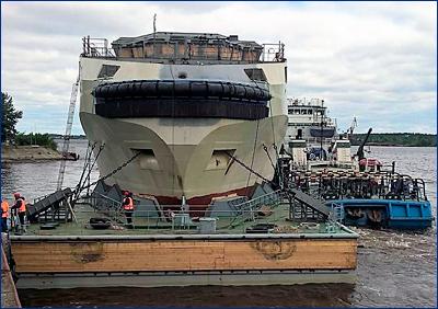 Морской буксир «Сергей Балк» доставили для достройки на Черноморский флот